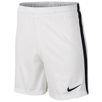Nike Academy Knit Shorts - Boys' Grade School - White / Black