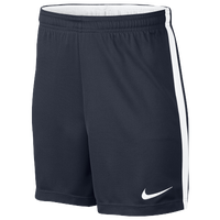 Nike Academy Knit Shorts - Grade School - Navy / White