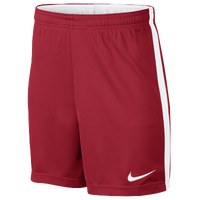 Nike Academy Knit Shorts - Grade School - Red / White