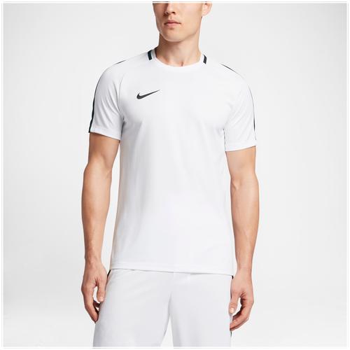 Nike Academy Shortsleeve Top - Men's - Soccer - Clothing - White/Black hot  sale