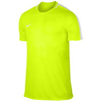 Nike Academy Short Sleeve Top - Men's - Light Green / White