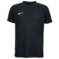 Nike Academy Short Sleeve Top - Youth - Black / White