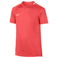 Nike Academy Short Sleeve Top - Grade School - Red / White