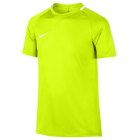 Nike Academy Short Sleeve Top - Youth - Light Green / White