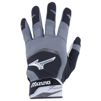 Mizuno Finch Batting Gloves - Women's - Black / Grey