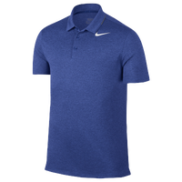 Nike Golf Breathe Heather Polo - Men's - Blue / White