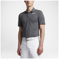 Nike Golf Icon Elite Polo - Men's - Grey / White