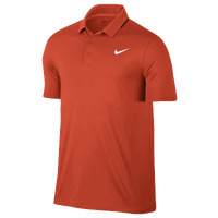 Nike Golf Icon Elite Polo - Men's - Orange / Black