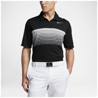 Nike Golf Mobility Speed Stripe Polo - Men's - Black / White