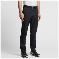 Nike Golf Flat Front Golf Pants - Men's - All Black / Black