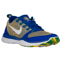 Nike Free Train Versatility - Men's - Brazil - Blue / White
