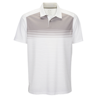 Oakley Nelson Golf Polo - Men's - White / Tan