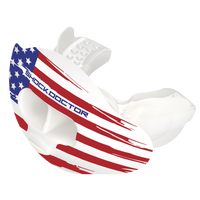 Shock Doctor Max AirFlow Lip Guard - Adult - White / Red