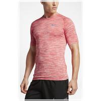 4a2f364c3bef19 Nike Dri-FIT Knit Short Sleeve T-Shirt - Men s - Orange   Grey
