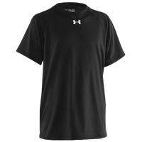 Under Armour Team Locker S/S Shirt - Boys' Grade School - All Black / Black