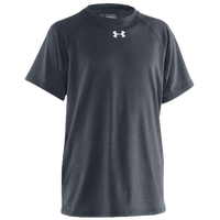 Under Armour Team Locker S/S Shirt - Boys' Grade School - Grey / Grey