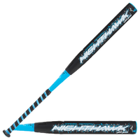 Mizuno Nighthawk 2018 Fastpitch Bat - Women's - Black / Light Blue
