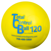 Total Control Sports Atomic Size Batting Ball - Yellow / Blue