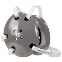 Cliff Keen Signature Headgear - Silver / Silver