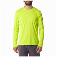 ASICS® Contour Long Sleeve T-Shirt - Men's - Light Green / Light Green