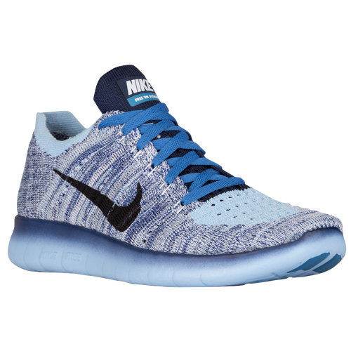 fad7943d6bd28 Nike Free Run Flyknit - Girls  Grade School - Running - Shoes - Bluecap