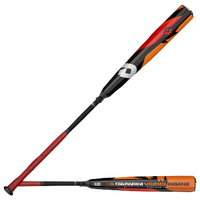 DeMarini VOODOO Insane BBCOR Baseball Bat - Men's - Black / Orange