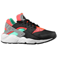 Nike Air Huarache - Women's - Black / Light Green