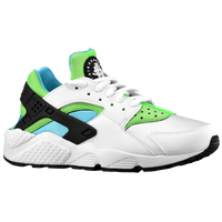 Nike Air Huarache - Women's - White / Light Blue