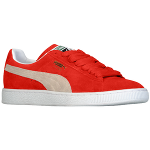 PUMA Suede Classic - Men's - High Risk Red/White