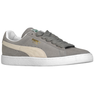 PUMA Suede Classic - Men's - Steel Gray/White