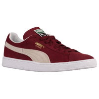 PUMA Suede Classic - Men's - Red / White