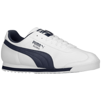 PUMA Roma Basic - Men's - White / Navy