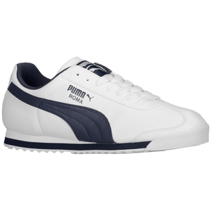 PUMA Roma Basic - Men's - White/New Navy