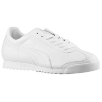 PUMA Roma Basic - Men's - All White / White