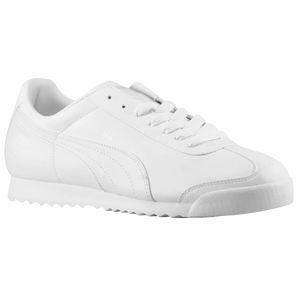 PUMA Roma Basic - Men's - White/Light Grey