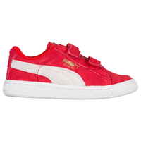 PUMA Suede Classic - Boys' Toddler - Red / Grey
