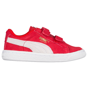 PUMA Suede Classic - Boys' Toddler - High Risk Red/White