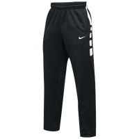 Nike Team Elite Stripe Pants - Men's - Black / White