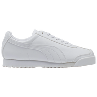 PUMA Roma - Boys' Grade School - All White / White