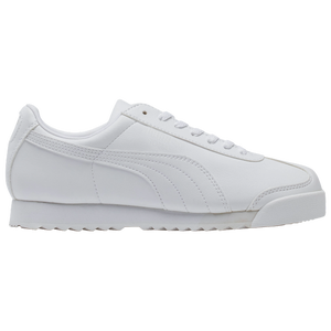 PUMA Roma - Boys' Grade School - White/Light Grey