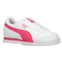 PUMA Roma - Girls' Grade School - White / Pink