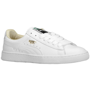 PUMA Basket Classic - Men's - White/White