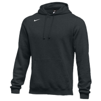 Nike Team Club Fleece Hoodie - Men's - All Black / Black