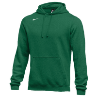 Nike Team Club Fleece Hoodie - Men's - Dark Green / Dark Green