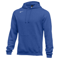 Nike Team Club Fleece Hoodie - Men's - Blue / Blue