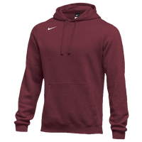 Nike Team Club Fleece Hoodie - Men's - Cardinal / Cardinal