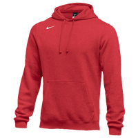 Nike Team Club Fleece Hoodie - Men's - Red / Red
