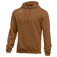 Nike Team Club Fleece Hoodie - Men's - Orange / Orange