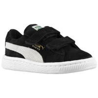 PUMA Suede Classic - Boys' Toddler - Black / White