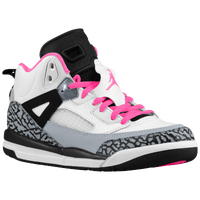 Jordan Spizike - Girls' Preschool - White / Pink